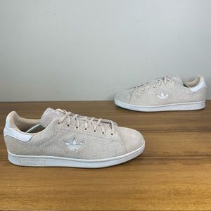 Adidas Stan Smith Mens Suede Sneaker Size 10.5